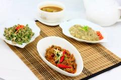 Asiatisk kokkonst Fotografering för Bildbyråer