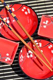 asiatisk kokkonst besegrar använt traditionellt Royaltyfria Foton