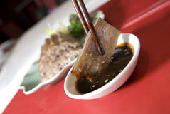 asiatisk kokkonstmat shanghai arkivbild