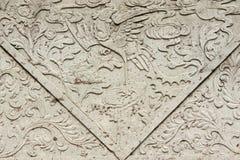 Asiatisk konstgravbakgrund Royaltyfria Bilder