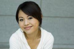 asiatisk kvinna royaltyfri bild