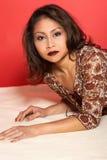 asiatisk kvinna Arkivfoton