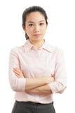 Asiatisk kvinna royaltyfri fotografi