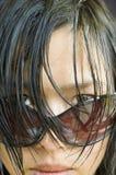 asiatisk kvinna Royaltyfria Bilder