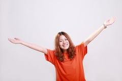asiatisk kvinnlig Royaltyfri Foto