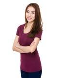 Asiatisk Lady royaltyfri fotografi