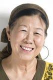asiatisk lady royaltyfri foto