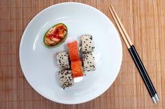 asiatisk lunch Fotografering för Bildbyråer