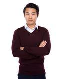 asiatisk man Fotografering för Bildbyråer