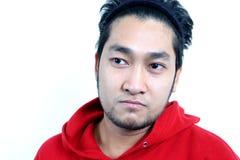 asiatisk manlig Arkivbild