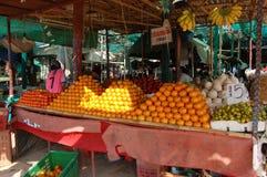asiatisk marknad Royaltyfria Bilder