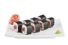asiatisk mat Arkivfoto