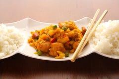 asiatisk mat Arkivbild