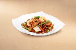 Asiatisk mat hokkien mee royaltyfri bild