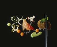 asiatisk matlivstid fortfarande Arkivbild