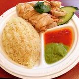asiatisk maträtt Arkivbild