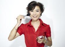 asiatisk modekvinnlig Royaltyfria Foton