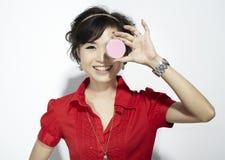 asiatisk modekvinnlig Royaltyfri Foto
