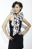 asiatisk modekvinnlig Royaltyfria Bilder