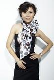 asiatisk modekvinnlig Fotografering för Bildbyråer