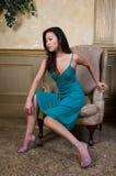 asiatisk modell Fotografering för Bildbyråer