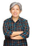 asiatisk mogen kvinna Arkivfoton