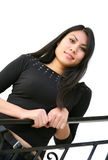 asiatisk nätt kvinna Royaltyfria Foton