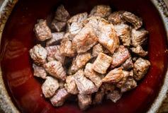 Asiatisk nötköttbunke Fotografering för Bildbyråer