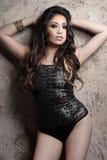 asiatisk nätt kvinna Arkivfoto