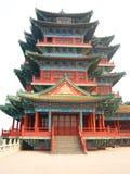 asiatisk pagoda Royaltyfria Bilder
