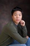 asiatisk pojke Fotografering för Bildbyråer