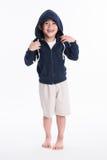 Asiatisk pojke - olika bilder av isolering Royaltyfria Bilder