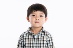 Asiatisk pojkestudiostående Royaltyfri Fotografi