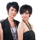 Asiatisk popstjärna royaltyfri fotografi