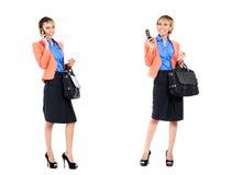 Asiatisk professionell för affärskvinna Arkivbild