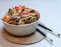 Asiatisk söt maträtt Royaltyfri Bild