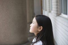asiatisk schoolgirl Arkivfoton