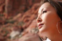 asiatisk sexig kvinna Royaltyfri Foto