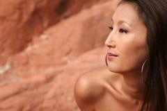 asiatisk sexig kvinna Royaltyfri Bild