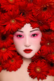 asiatisk skönhet arkivbilder