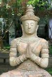 asiatisk skulptur Royaltyfria Bilder