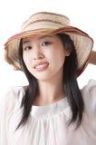 asiatisk sommartidkvinna royaltyfria bilder