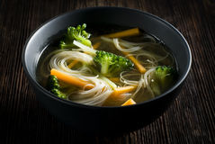 asiatisk soup Royaltyfri Bild