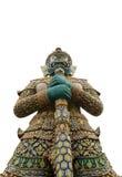 Asiatisk staty i Bangkok Arkivfoton