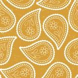 Asiatisk stil för sömlös paisley tapet Royaltyfri Bild