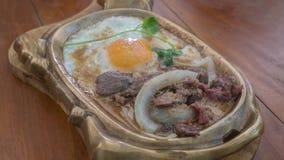 Asiatisk stilfrukost arkivfoton