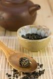 Asiatisk tea Fotografering för Bildbyråer