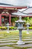 Asiatisk tempel Arkivbild