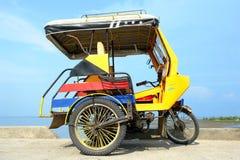 asiatisk trehjuling arkivfoto