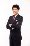 Asiatisk ung affärsman fotografering för bildbyråer